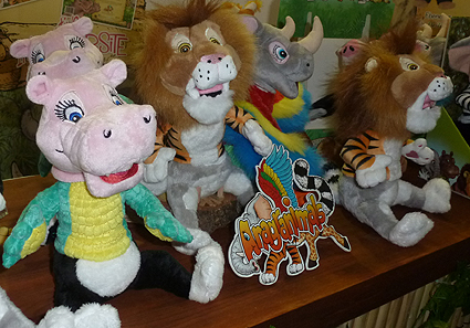 Anagranimals Plush Toys