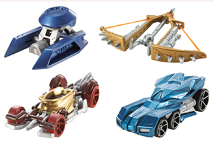 Battle Force 5 Toy Cars