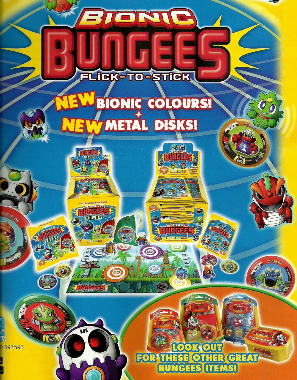 Bionic Bungees Series 1