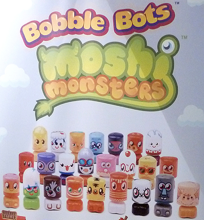 Bobble Bots Moshi Monsters