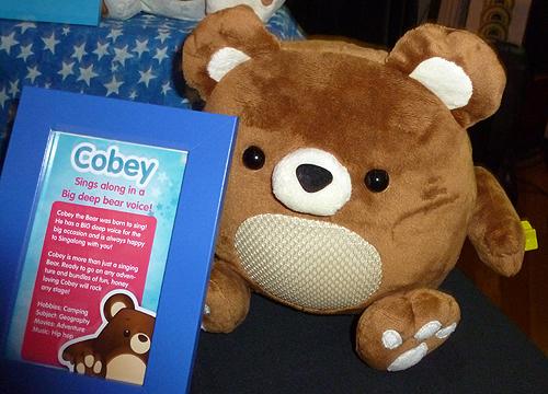 Singalongz Cobey the Bear