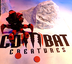 Combat Creatures Attacknid Toy