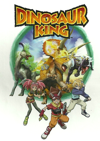 The Dinosaur King Toys