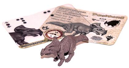 Dinowaurs Figure & Dinowaurs Cards