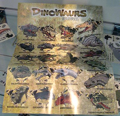 Dinowaurs Collectors Leaflet