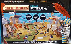 Horrible Histories Exploding Battle Arena Playset