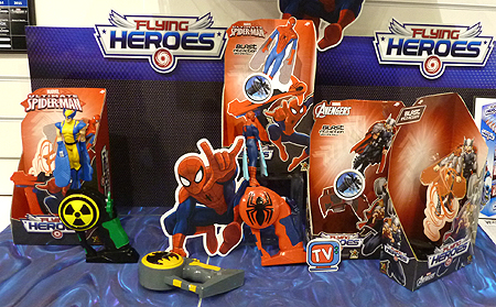 Flying Heroes Toys Ultimate Spiderman