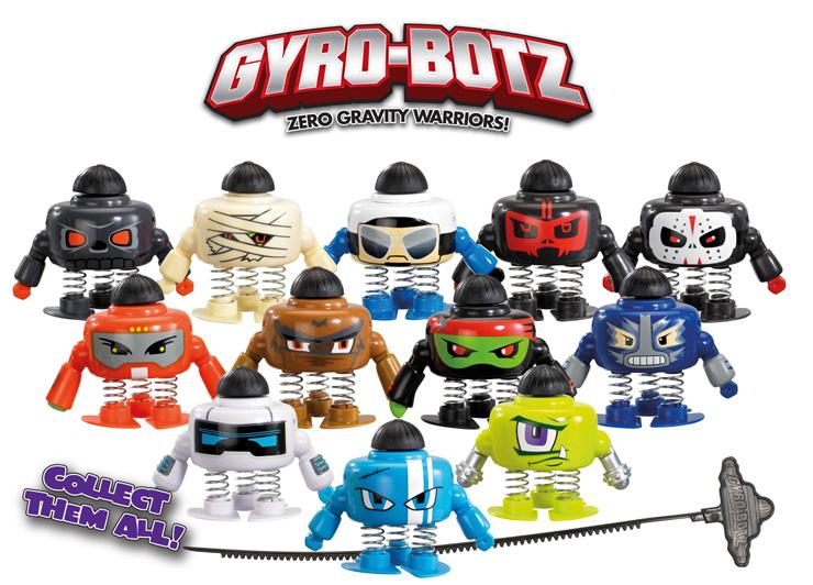Gyro Botz Figures
