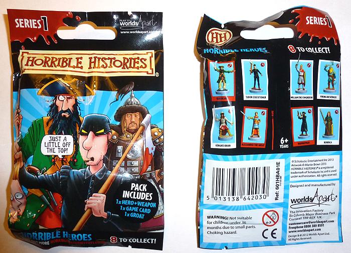 Horrible Histories Figures Series 1