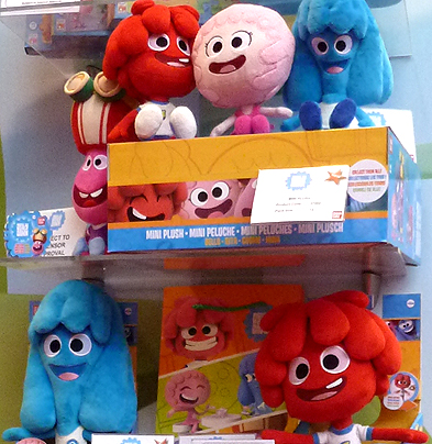 Jelly Jamm Plush Toys - Plush Bello, Mina and Rita