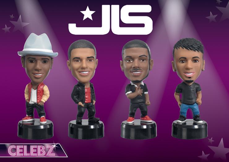 JLS Celebz Figures