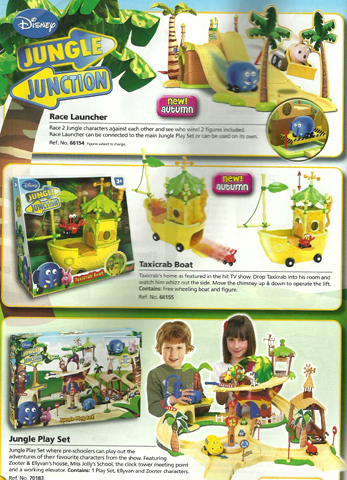 Jungle Junction Playsets