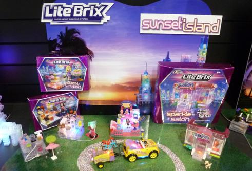 Lite Brix Sunset Island Toys