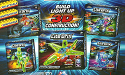 Lite Brix Construction Sets