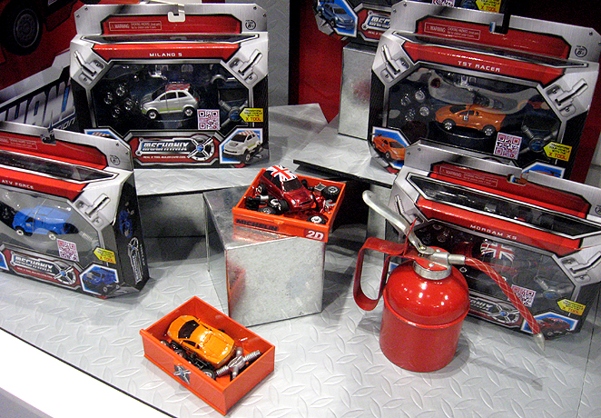 Mechanix Toy Vehicles