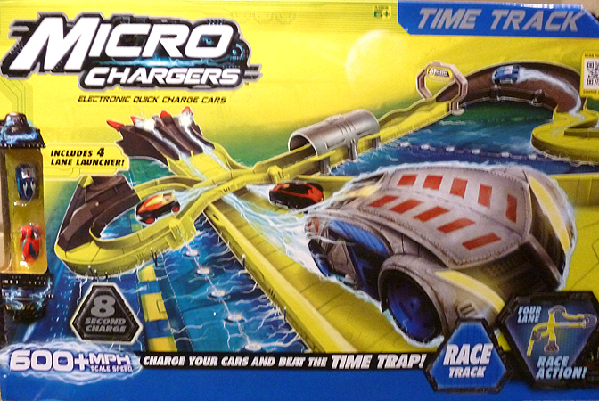 Micro Chargers Time Track Set