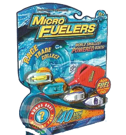 Micro Fuelers Toy Boats