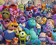 Mini Monsters characters from Monsters University