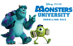 Monsters University Toys