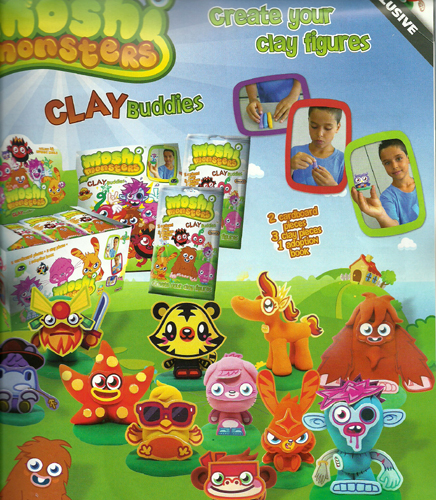 Moshi Monsters Clay Buddies Toy