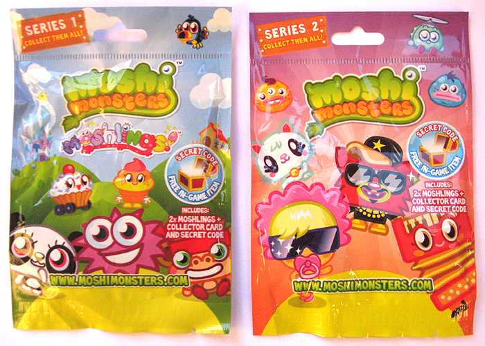 Moshi Monsters Moshlings Series 1 & 2