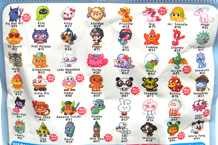 Moshi Monsters Series 1