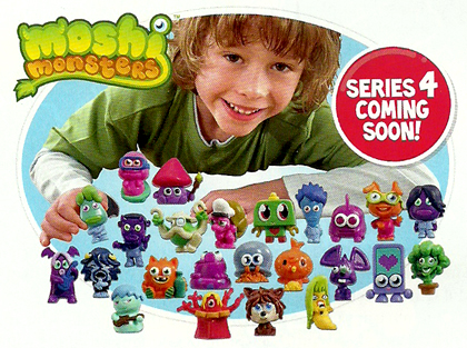 Moshi Monsters Series 4