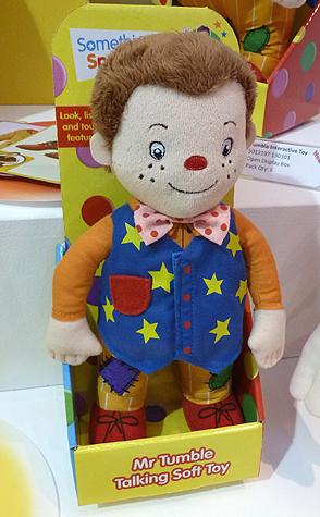 Mr Tumble Soft Toy