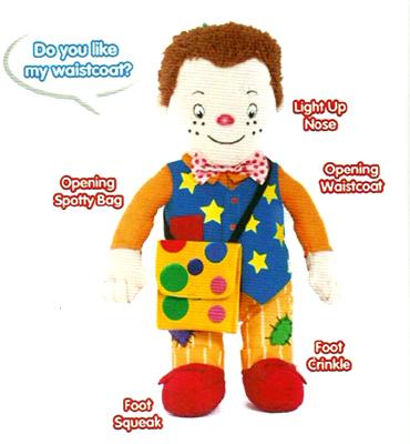 Mr Tumble Plush Figure