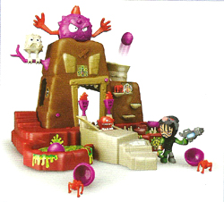 Mutant Busters Panic Island Toy