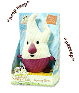 Abney and Teal Squeezy Neep Plush Toy
