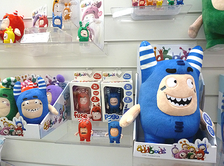Oddbods Fuse Face Changer Figurine by Oddbods