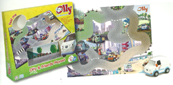 Olly The Little White Van Playset