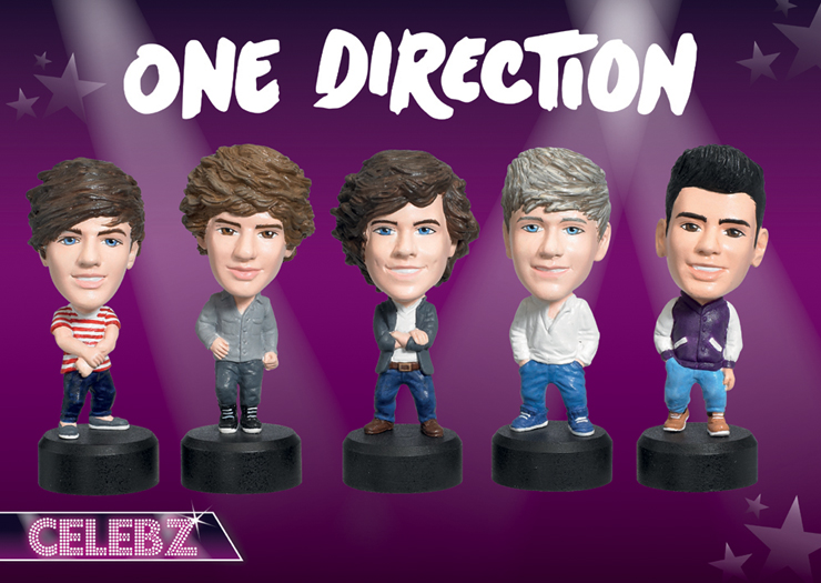 One Direction Celebz Figures