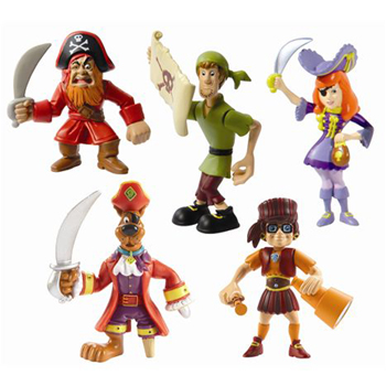 Scooby Doo Pirate Crew Figures