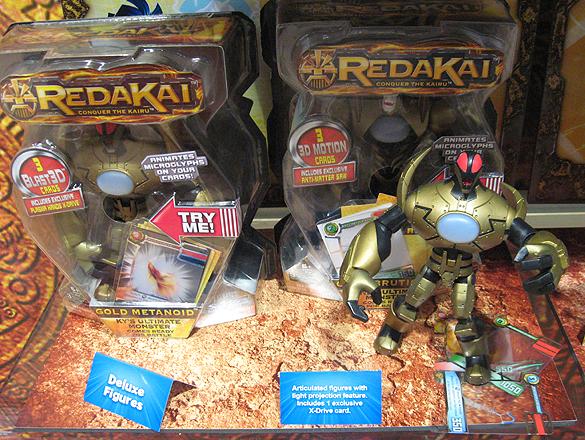 Redakai Figures - Metanoid and Bruticon