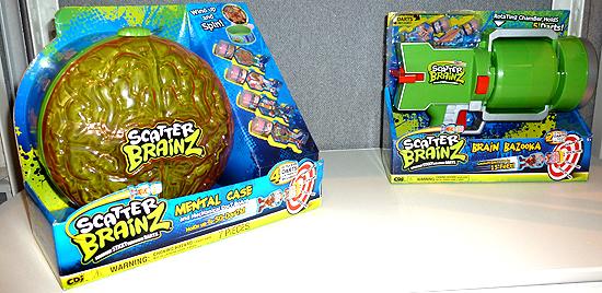 Scatter Brainz Mental Case & Brain Bazooka