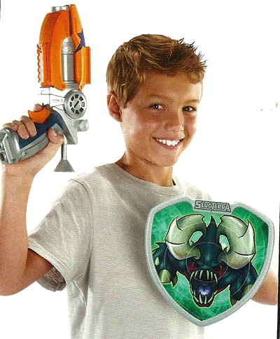 Slugterra Gun and Slugterra Shield