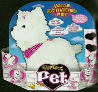 Snowy the Perfect Pet Toy