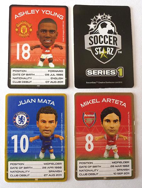 Soccer Starz Cards