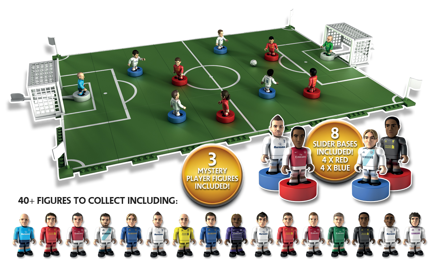 Character Building Sports Stars Pitch and Play Set