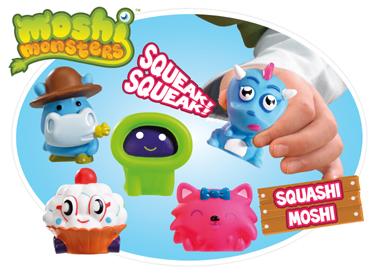 Moshi Monsters Squashi Moshi