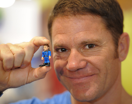 Steve Backshall and Deadly 60 Micro Figure