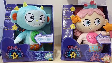 Story Stars Soft Toys