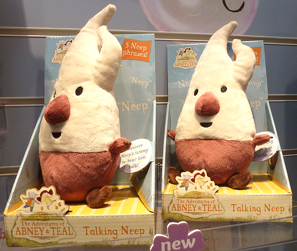 Abney & Teal Talking Neep Plush Toy