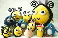 The Hive Plush Toys