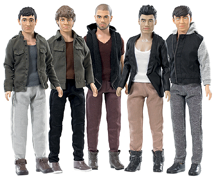 The Wanted Figures