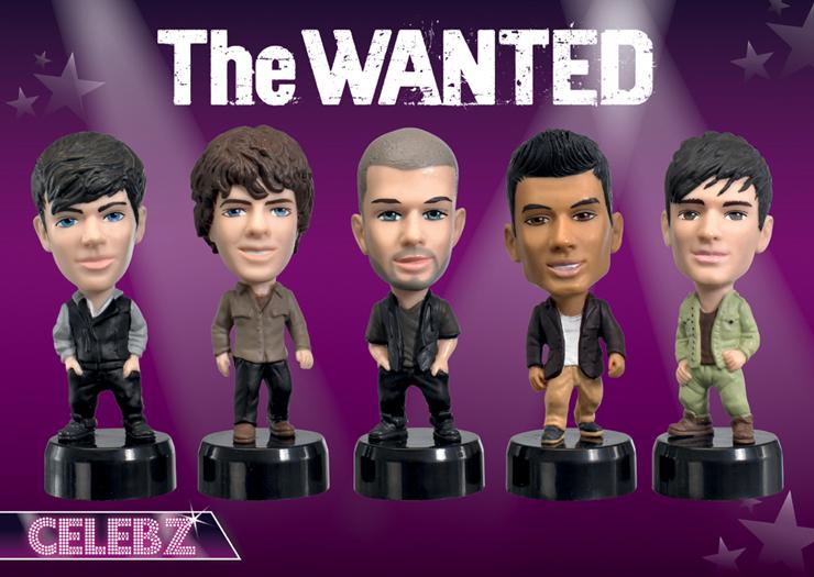 The Wanted Celebz Figures