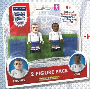 Character Building Topps Minis England Figures