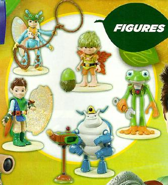 Tree Fu Tom Figures